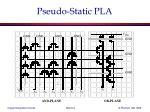 pseudo static pla