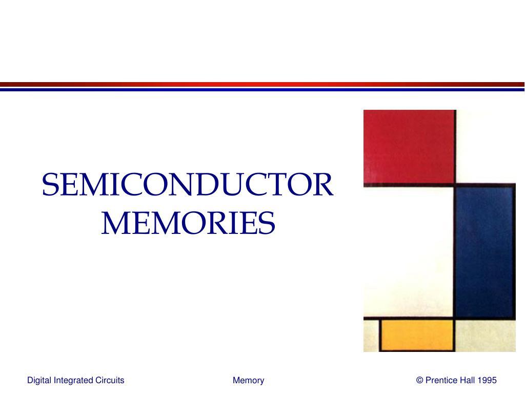 semiconductor memories l.