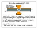 thz bandwidth hbts