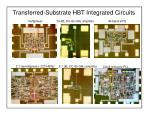 transferred substrate hbt integrated circuits30