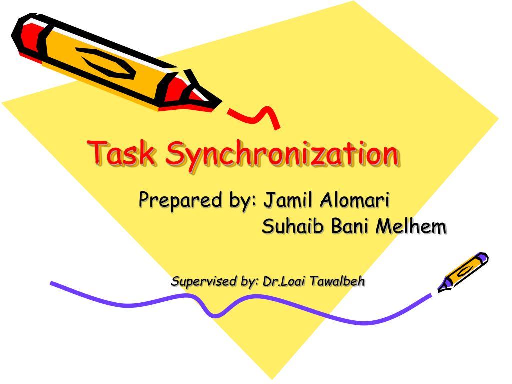 task synchronization l.