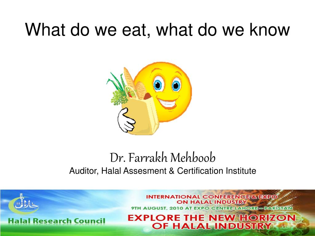 what do we eat what do we know l.