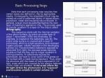 basic processing steps