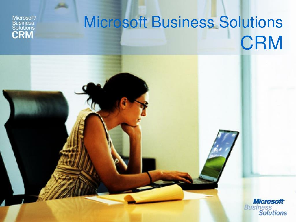microsoft business solutions crm l.