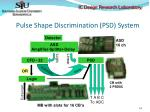 pulse shape discrimination psd system