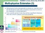 multi physics extension 1