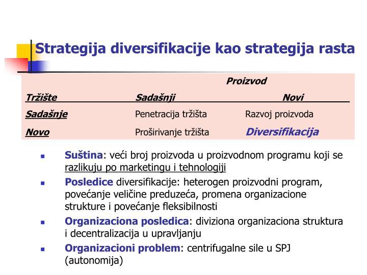 diversifikavimo strategijos powerpoint)