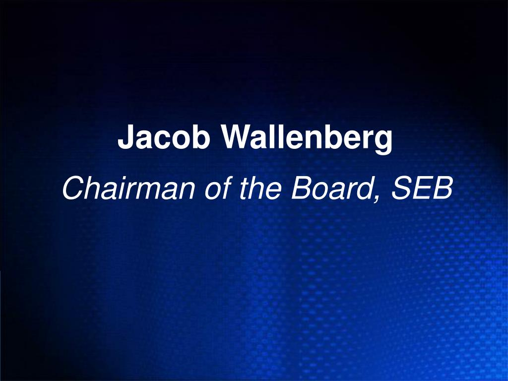 Jacob Wallenberg