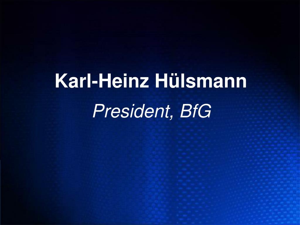 Karl-Heinz Hülsmann