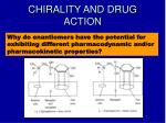 chirality and drug action