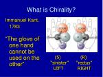 what is chirality