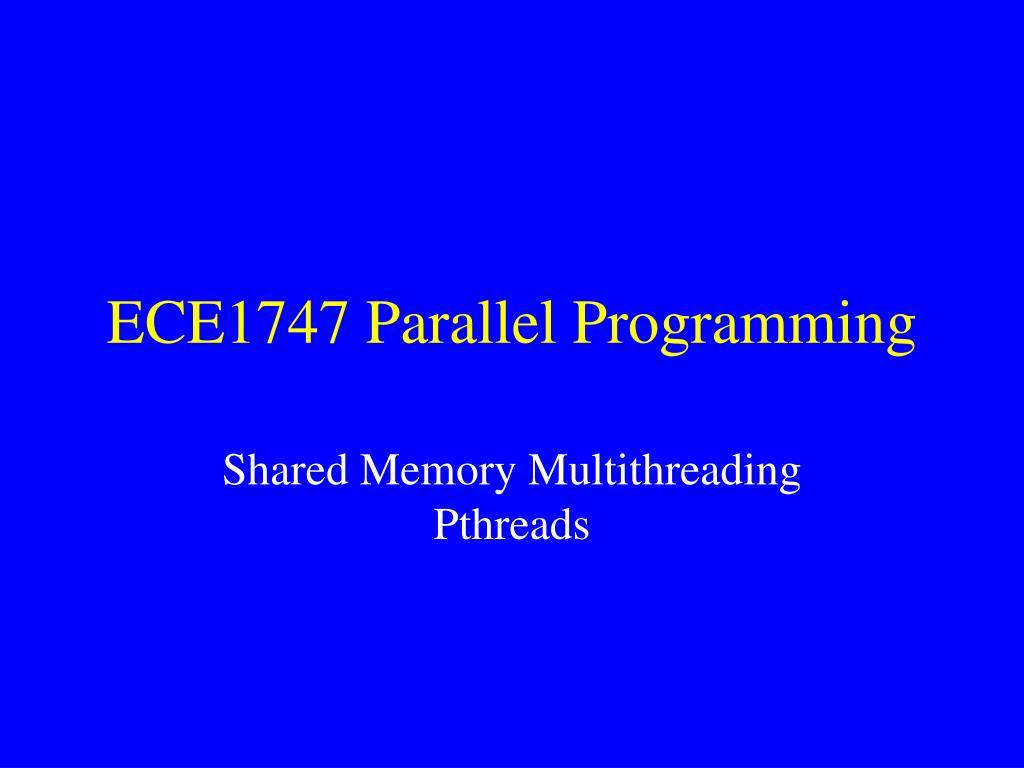 ece1747 parallel programming l.