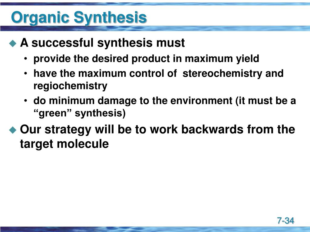 Organic Synthesis