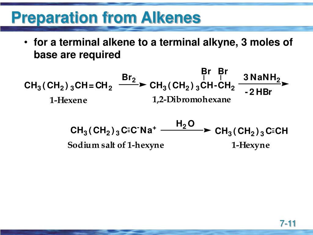 Preparation from Alkenes