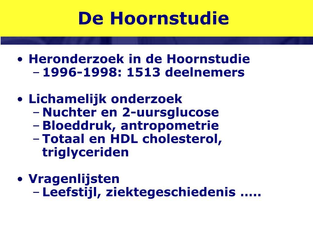 De Hoornstudie
