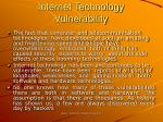 internet technology vulnerability