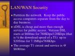 lan wan security