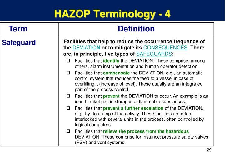 PPT - HAZOP Case Studies – Example 1 PowerPoint ...
