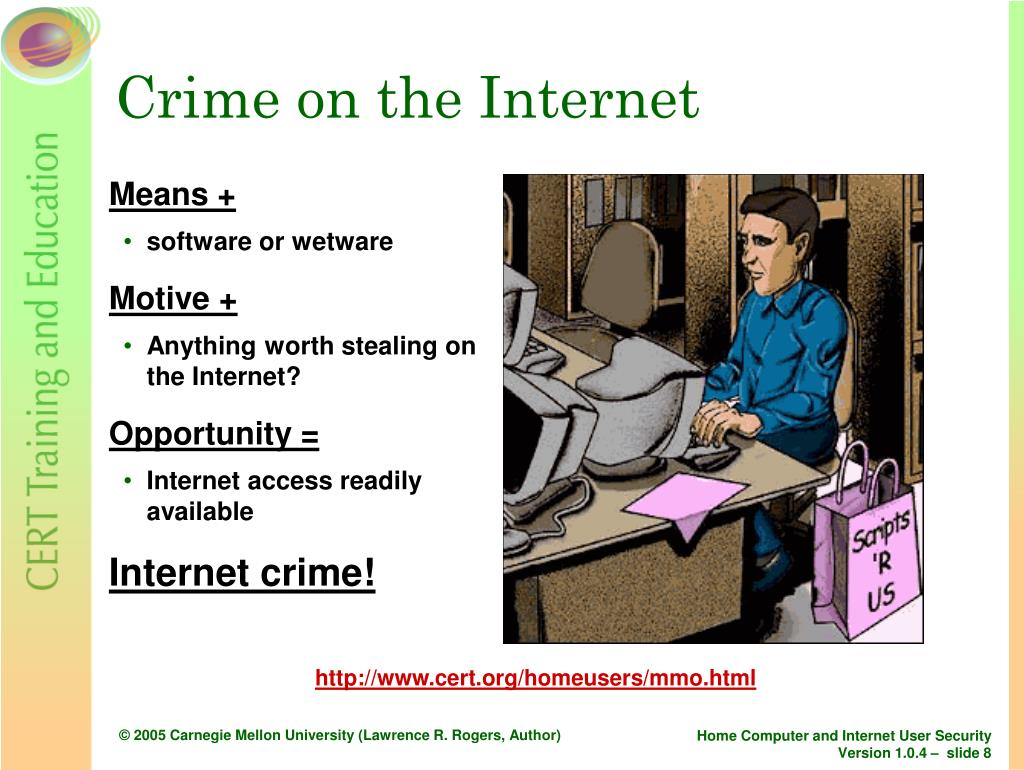 Crime on the Internet