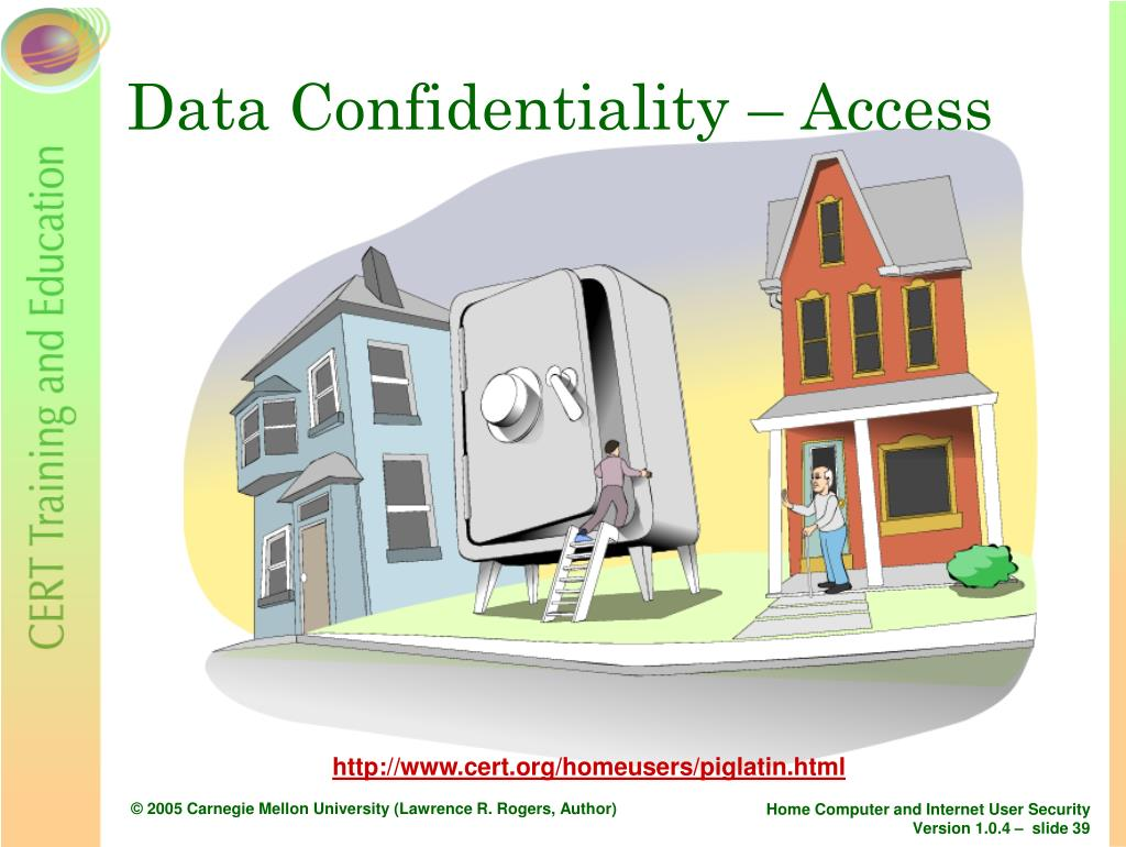 Data Confidentiality – Access