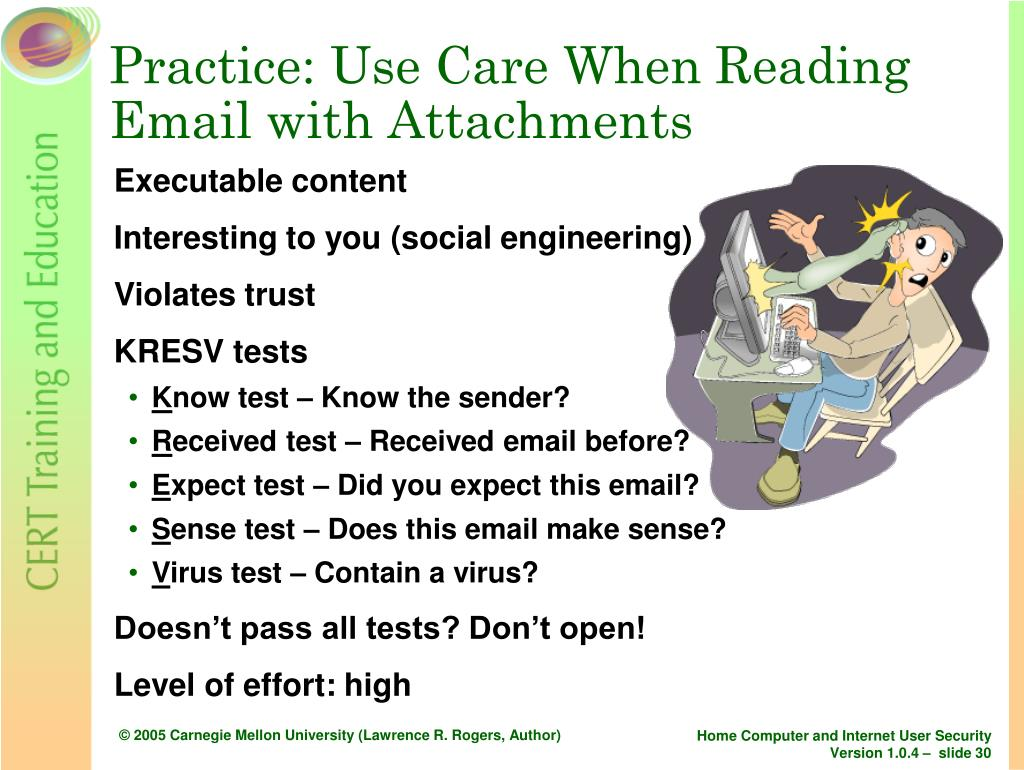 Practice: Use Care When Reading