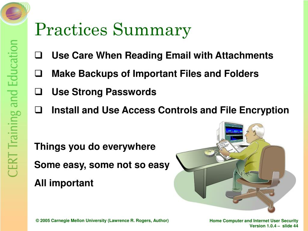 Practices Summary