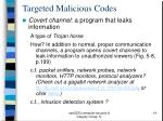 targeted malicious codes14