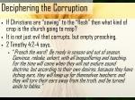 deciphering the corruption18