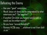 defeating the enemy28