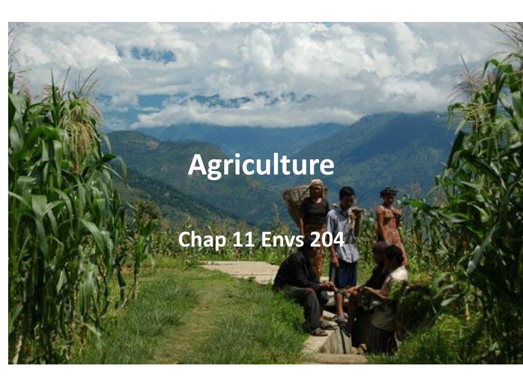 agriculture l.