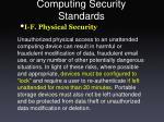 computing security standards33