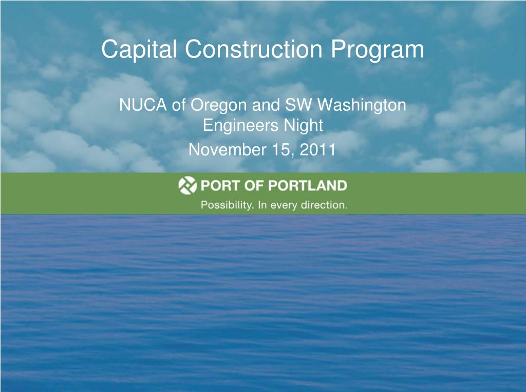capital construction program l.
