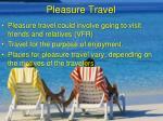 pleasure travel
