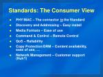 standards the consumer view