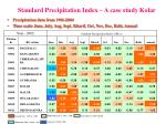 standard precipitation index a case study kolar