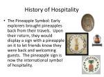 history of hospitality8