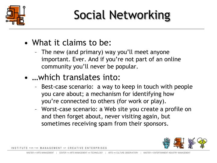 Social networking1