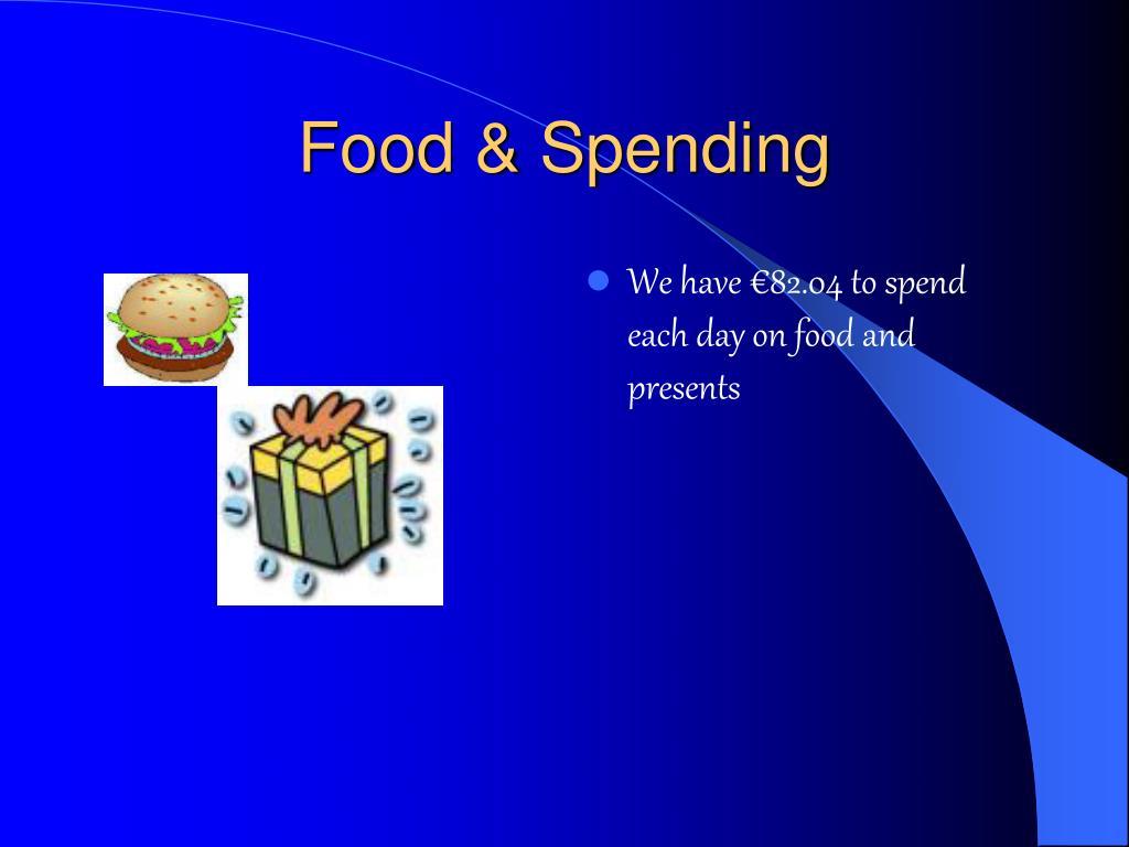 Food & Spending