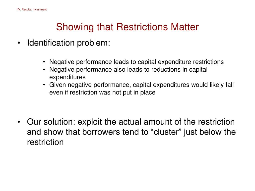 PPT - Creditor Control Rights and Firm Investment Policy PowerPoint