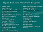 injury illness prevention program19