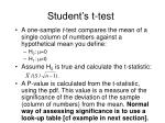 student s t test14