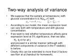 two way analysis of variance27