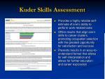 kuder skills assessment