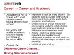 career career and academic