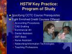 hstw key practice program of study15