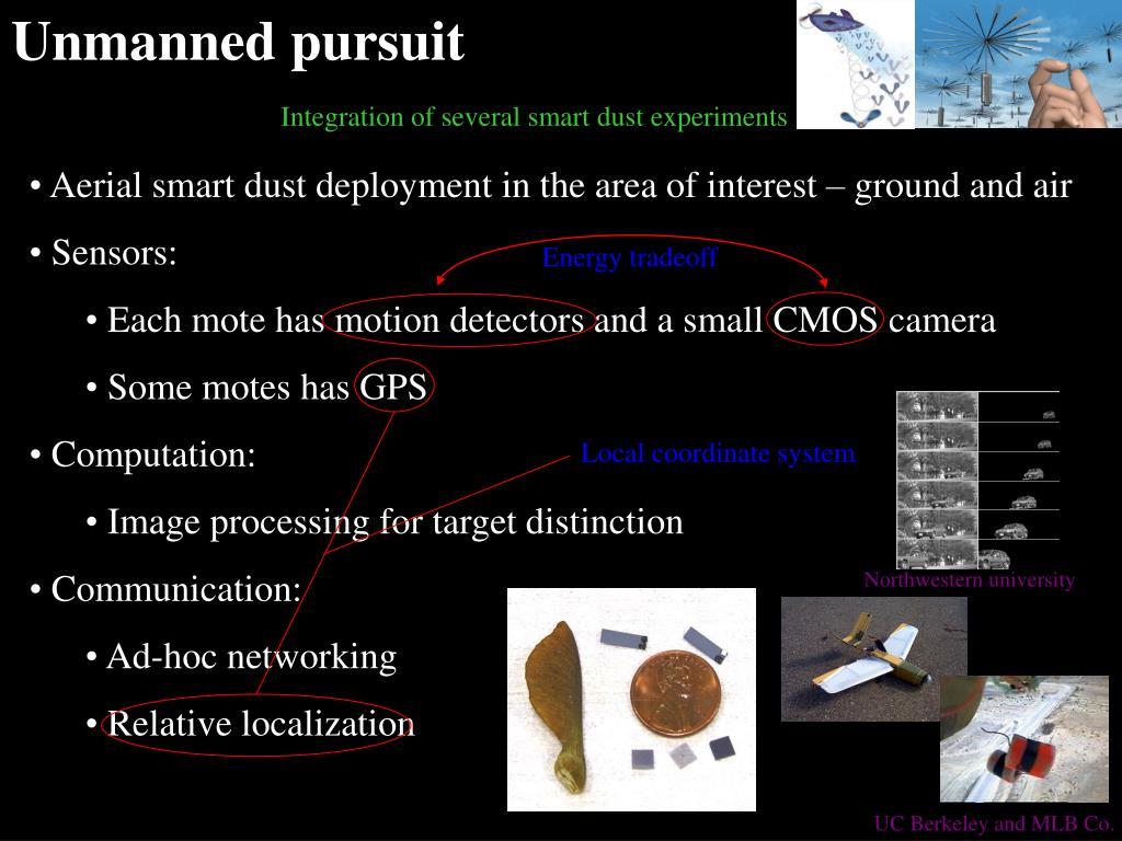 Unmanned pursuit