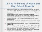 12 tips for parents of middle and high school students36