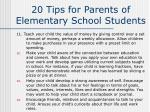 20 tips for parents of elementary school students32