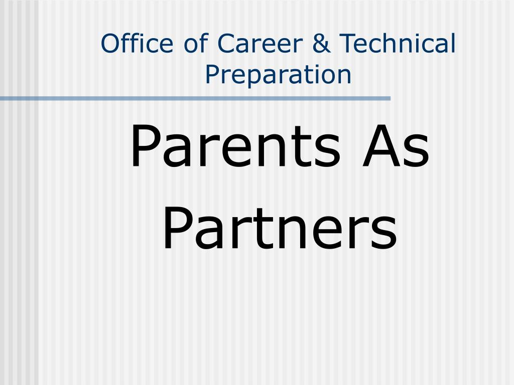 office of career technical preparation l.