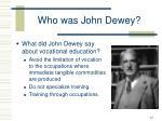 who was john dewey